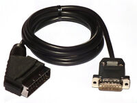 RGB-SCART Sharp X68000 cable x68k