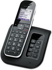 T-SINUS A205 Schnurloses Telefon mit Anrufbeantworter Schnurlos DECT Gerät Schwa