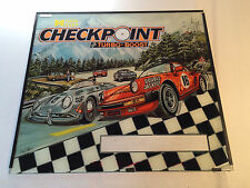 Checkpoint Turbo Boost 1991 Data East Pinball Backglass #184