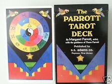 Parrott Parrot Tarot Fortune Cards Deck Magic Future Predict Svengali Free Ship