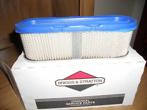 Briggs & Stratton OEM 399806S - Filter-A/C Cartridge- NEW IN BOX!
