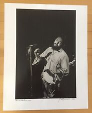 "JIM MARSHALL - PAUL BUTTERFIELD - 16"" X 20"" - SIGNED"