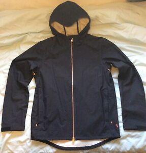 Levis Commuter Echelon Cycling Jacket Waterproof Windbreaker Black Size Small