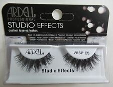 (LOT OF 3) Ardell Studio Effects WISPIES Eyelashes Black Invisibands