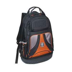 Klein Tools 55421BP-14 Tradesman Pro™ Tool Bag Backpack 39 Pockets Black 14-Inch