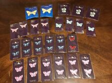 Large Lot Of Iron On Patches Appliqués Butterfly Butterflies Cat Cats A1