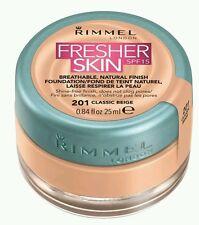 Rimmel London Fresher Skin FoundationShade Number 201, Classic Beige 25 ml