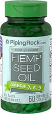 Piping Rock Hemp Seed Oil 700 mg - 60 Quick Release Softgels (free shipping)