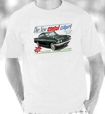 Ford Consul Capri Retro Brochure Style T-Shirt