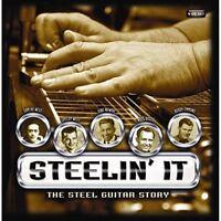 STEELIN' IT: THE STEEL GUITAR STORY - TERRY FELL, HANK WILLIAMS 4 CD NEU