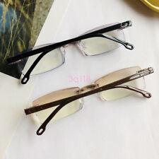 Rimless Reading Glasses Anti Blue Light Blocking Lens Eyewear For Women Men