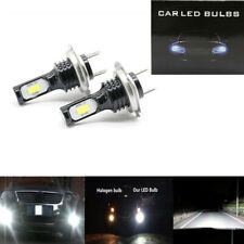 H7 3030 LED Headlight High Low Beam Bulb Kit 6000K White 55W 8000LM Super Bright