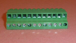NEW 20PCS DEGSON Pluggable terminal block 5.08mm ways:12 angled plug female