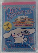 Vintage sanrio 2003 cinnamoroll mini stationary book brand new & sealed