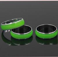 Luminous Couple Finger Ring For Unisex Titanium Ring Jewelry  Club Present G9C