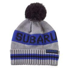 Genuine Subaru Youth Blue Stripe Beanie Hat Impreza STI WRX Forester Ski Snow