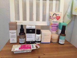 Hautpflegeset Beautypaket Inkey List, Face Theory, Laneige, Balea