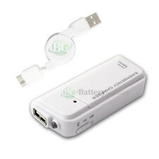 NEW Portable Charger+USB 3.0 Retract Cable for Samsung Galaxy S5 Note 3 50+SOLD