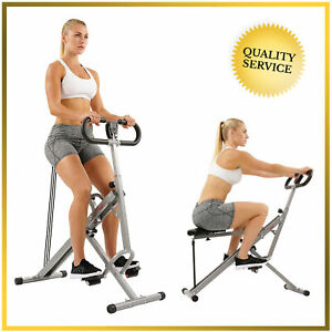 Sunny Health & Fitness Squat Assist Row-N-Ride