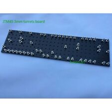 1pc JTM45 Guitar Amplifier turrets board Black color 3mm thickness