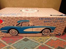 1958 Diecast Chevrolet Corvette Hard-Top - SOLIDO  1:12 Scale - M.I.B NOT OPENED