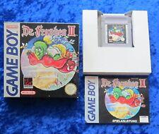 Dr. Franken II 2, Nintendo GameBoy GB Spiel, OVP Anleitung