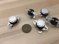 5 Piece 65ºC N/C normally closed Thermal Protector Thermostat switch KSD301 c23