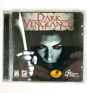 PC CD-Rom Dark Vengeance 04-15661CD GT Interactive L529