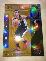 2019-20 Illusions Keldon Johnson Rookie RC Bronze Refractor Prizm Parallel Spurs