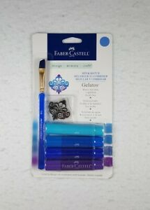 Brand New Faber-Castell Gelatos Mix And Match Crayon - Blue - Free Shipping!