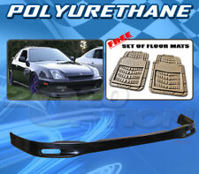 FOR HONDA PRELUDE 97-01 T-SP FRONT BUMPER LIP + DICKIES FLOOR MAT TAN