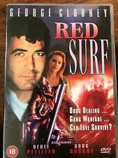 Dedee Pfeiffer George Clooney RED SURF ~ 1990 Drug Dealer Crime Thriller UK DVD
