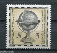 AUTRICHE, 1977, timbre 1384, CORONELLI AMIS DU GLOBE, neuf**, VF MNH stamp