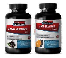 antioxidant berry drink - ACAIBERRY-ANTI-GREYHAIR COMBO 2B - saw palmetto extrac