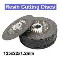 "1/5/10pcs 5""125mm Resin Cutting Disc Cut Off Wheel Blade For Angle Grinder Tools"