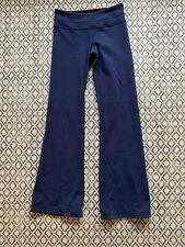 Lululemon Reversible Black And Blue Groove Pants Size 4