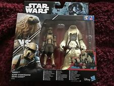 Star Wars Rogue MOROFF and  Scarif stormtrooper squad leader figure set