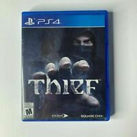 Thief Sony PlayStation 4 PS4 PERFECT Disc Complete CIB VERY Fast Ship World!!!