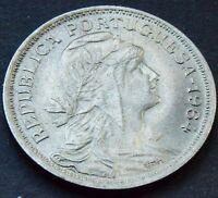 1964 Portugal 50 Centavos HIGH GRADE Coin  KM# 577