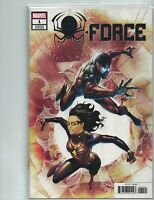 SPIDER-FORCE # 1  NM  1:50  RYAN BENJAMIN VARIANT  2018  HOT