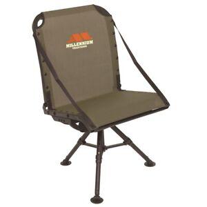 Millenium G-100-00 Millennium Tree Ground Blind Shooting Chair Packable