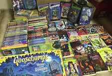 Lot Of 100 GOOSEBUMPS / fear street /Horror land and more Books by R.L. Stine