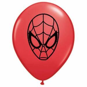 """Qualatex 5"""" Round Spiderman Faces 100ct."""