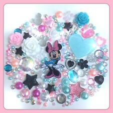 Disney Minnie Mouse Theme Planar Resin Cabochons, pearls & gems for crafts #4