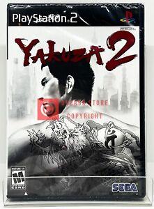 Yakuza 2 - PS2 - Brand New   Factory Sealed