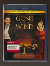 Gone With the Wind 70th Anniversary Edition Blu ray NEW Vivien Leigh Clark Gable