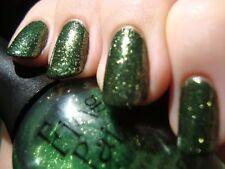 NEW FingerPaints Nail Color MERRY MISTLETOE ~ Sheer Green + Gold Shimmer