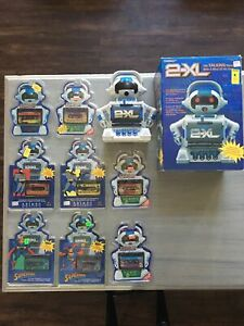 Tiger 2-XL Talking Robot Cassette Player 30 Tape Lot Tested Box Toy Catalog 1992