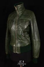 Autres vestes/blousons vertes en cuir pour femme