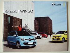 Renault . Twingo . Renault Twingo . January 2017 Sales Brochure